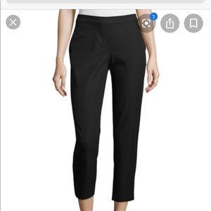Theory slim pants in black